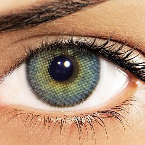 Eyes of Solotica Hidrocor Ocre Coloured Contact Lenses