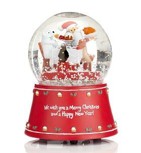 Snow globe, always need a snow globe