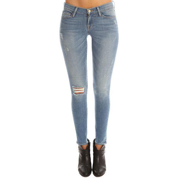 Frame Denim Le Skinny De Jeanne ($240) ❤ liked on Polyvore featuring jeans, frame, women, super stretch skinny jeans, super stretchy skinny jeans, stretchy skinny jeans, zipper jeans and skinny fit jeans