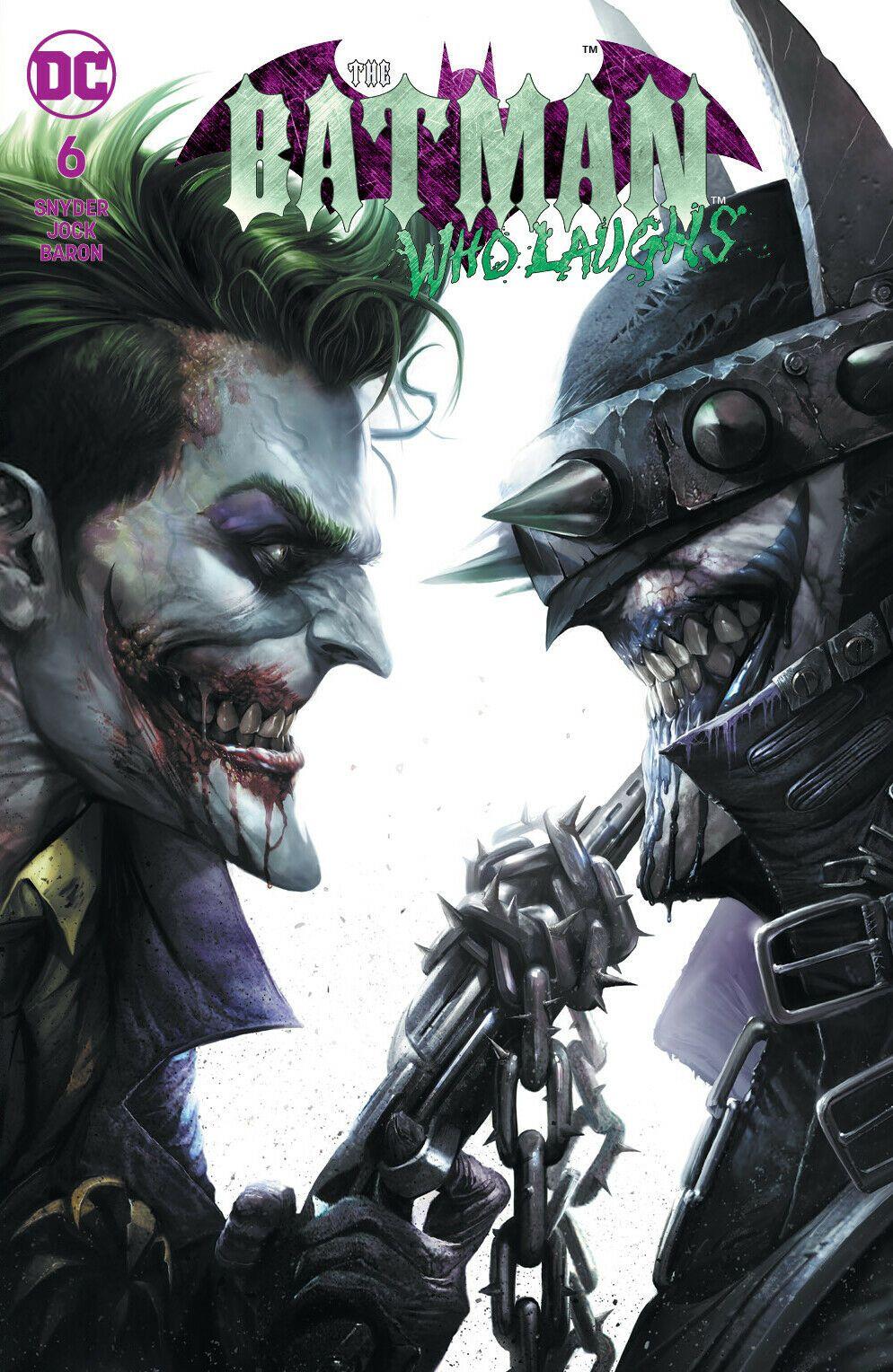 BATMAN WHO LAUGHS #4 OF 6