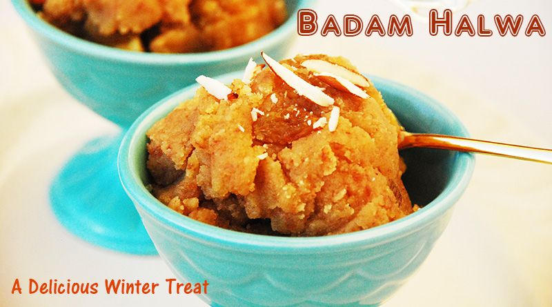 Badam halwa recipe indian winter dessert traditional indian badam halwa recipe indian winter dessert forumfinder Images