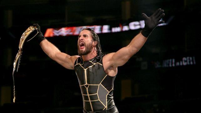 Seth Rollins Vs Demon Kane Wwe World Heavyweight Championship