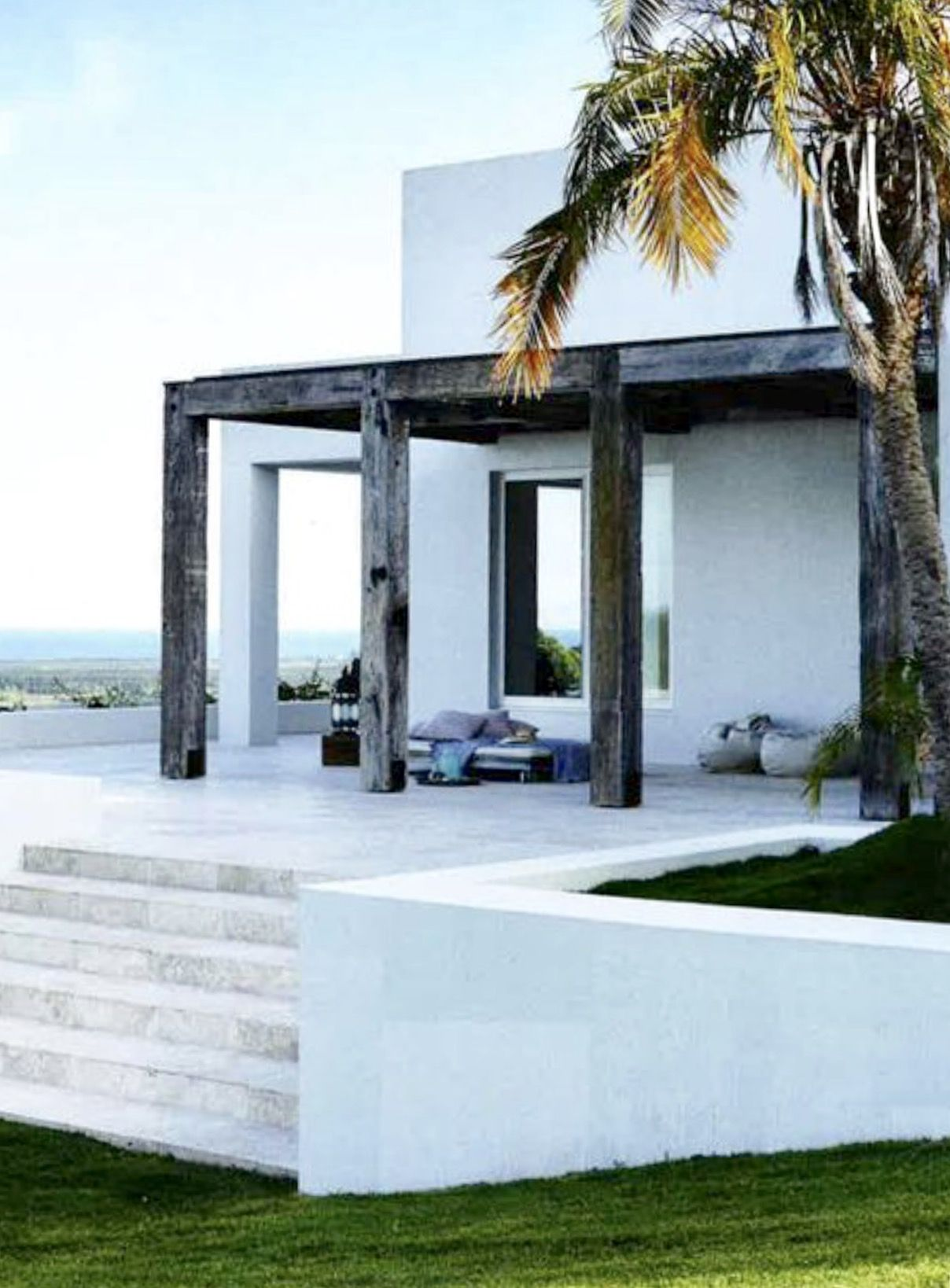 Unpolished Modern Home In Cyprus Blending Industrial: [CasaGiardino] ♛ Stucco Or Polished Cement Cladding. Rough
