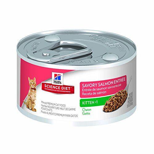 Hill's Science Diet Kitten Savory Salmon Entree Minced Cat