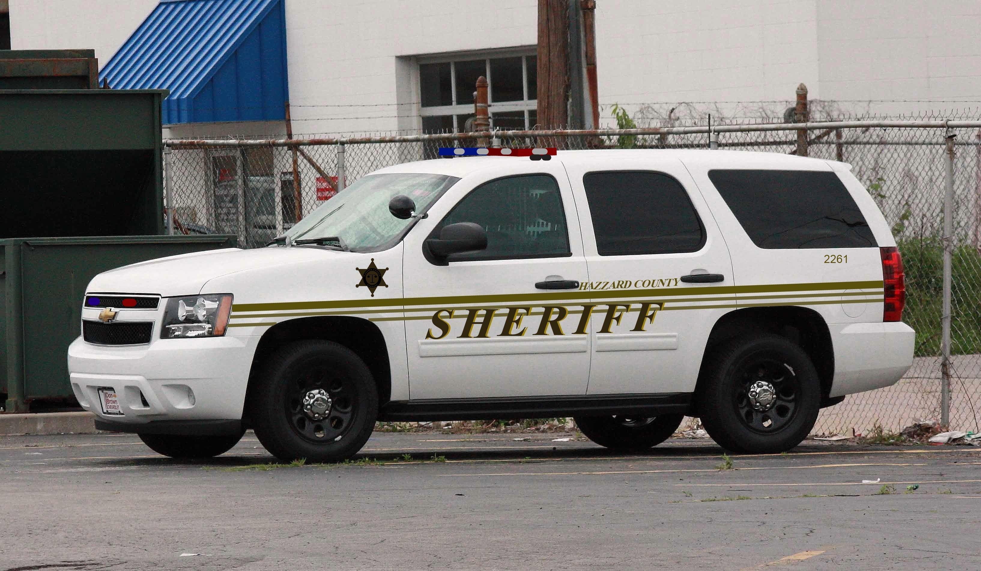 Hazzard County Sheriff Chevy Tahoe | Modern Dukes Of Hazzard