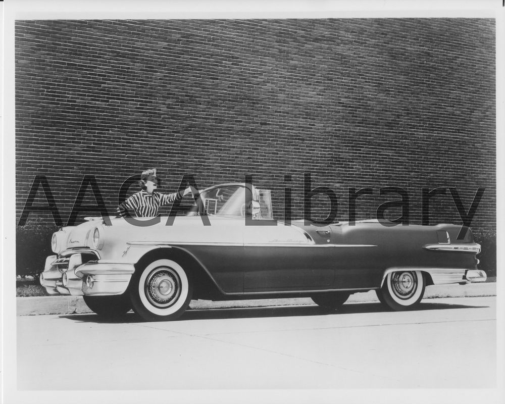 Factory Photo 1953 Cadillac Series 62 Convertible Ref. #30245