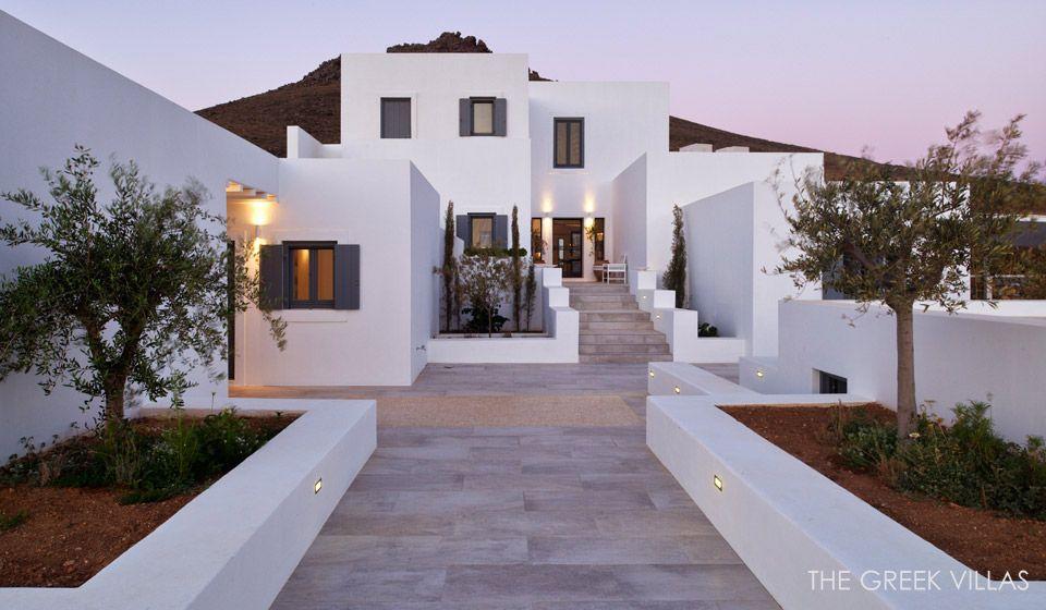 Luxury Paros Villas Paros Villa Zidane Cyclades Greece
