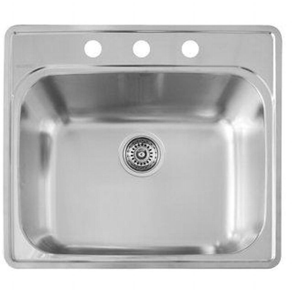 Blanco 441400 Esential Stainless Steel Single Bowl Laundry