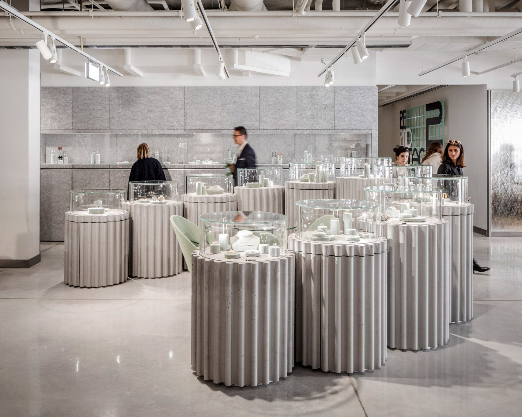 Big Completes Galeries Lafayette Store On Champs Elysees In Paris Lafayette Paris Paris Interiors Urban Living Room