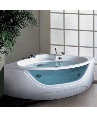 Baignoire Balneo D Angle Mila Shower Cabin Bathtub Bathtub Shower Doors