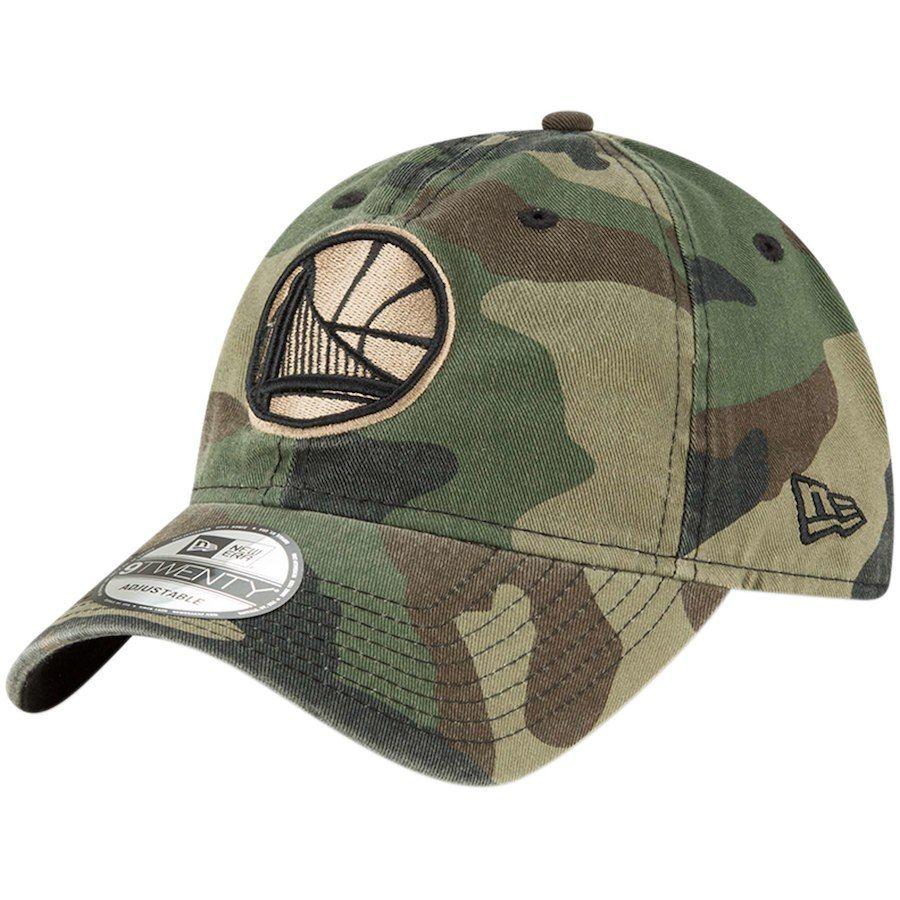 huge selection of 730f9 9cb8f Men s Golden State Warriors New Era Camo Core Classic 9TWENTY Adjustable  Hat,  21.99