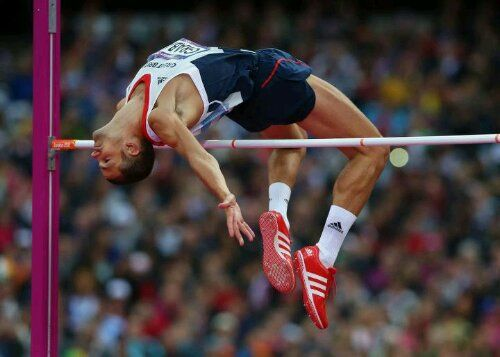 Robert Grabarz Bronze Medal High jump Form has a lot to do with it ...