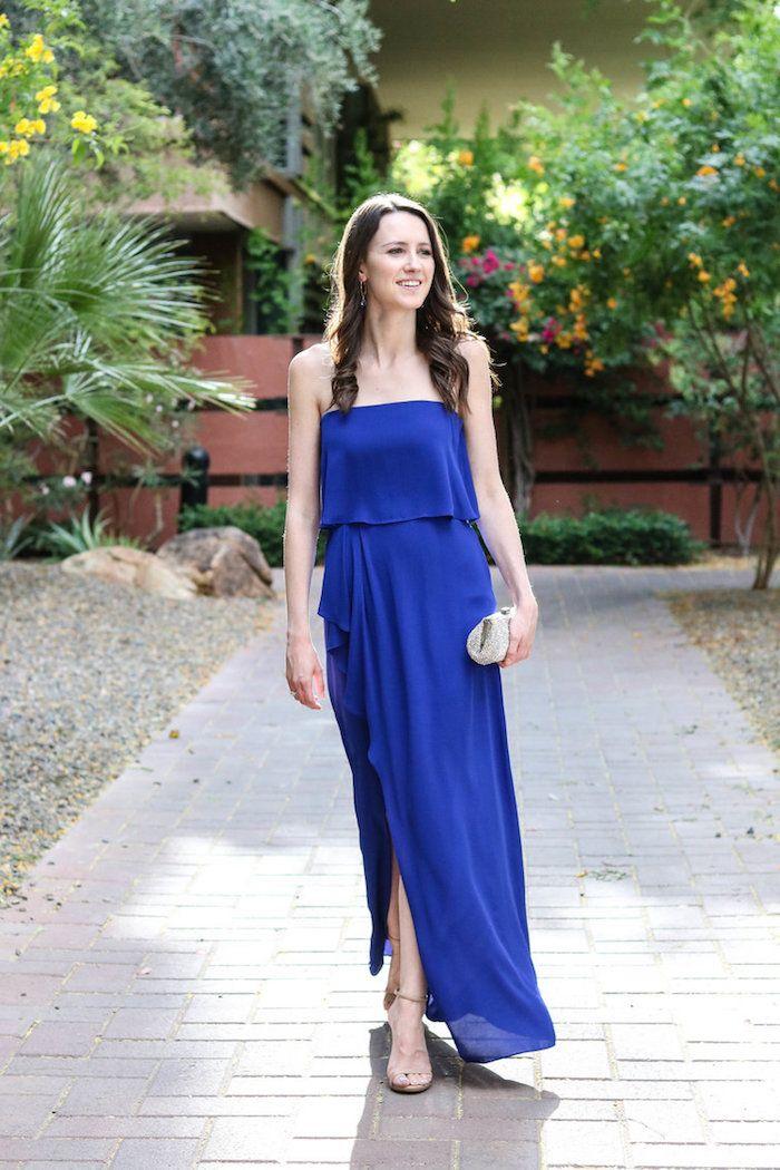Blaues kleid pinterest