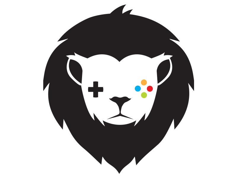 Gaming Lion Logo Template by Brandi Lea | Logos | Pinterest | Lion ...
