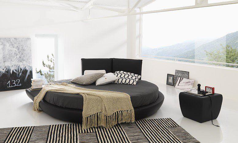Lit Rond Design Pour La Chambre Adulte Moderne En Idées Superbes - Lit rond adulte