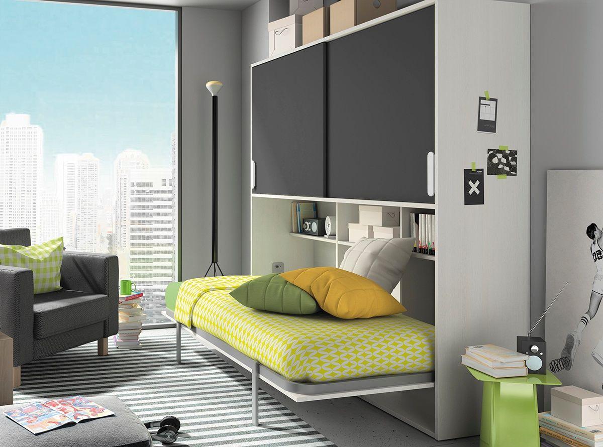 Cama Abatible Horizontal Http Www Hiper Mueble Com Habitaciones  # Muebles Cuadrados