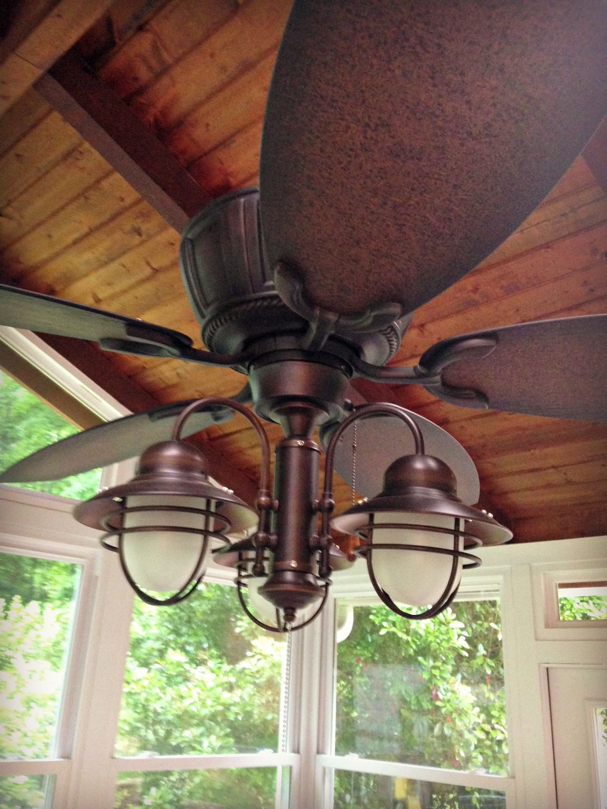fanimation stainless chandelier rubbed inch simple shades bronze finest fans looking ceiling amazing industrial fan homes ceilings crestford stained elegant light oil with excellent style steel