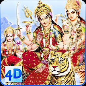 4D Maa Durga Live Wallpaper APK Download Live wallpapers