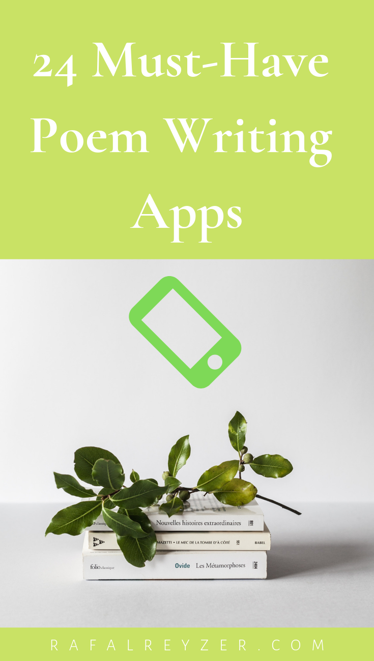 24 Must Have Poem Writing Apps Ios Android Rafal Reyzer Writing Poems Writing Poetry Poetry Blogs