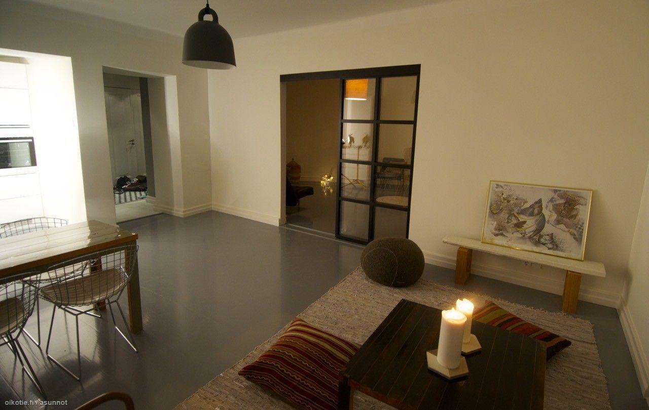 Myytävät asunnot, Mechelininkatu 21, Helsinki #oikotieasunnot #olohuone
