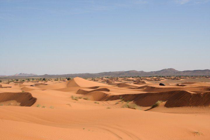 Dunas de Marruecos, socia de Desierto de los niños, Hotel Rural Rincón del Cierzo. Lécera.