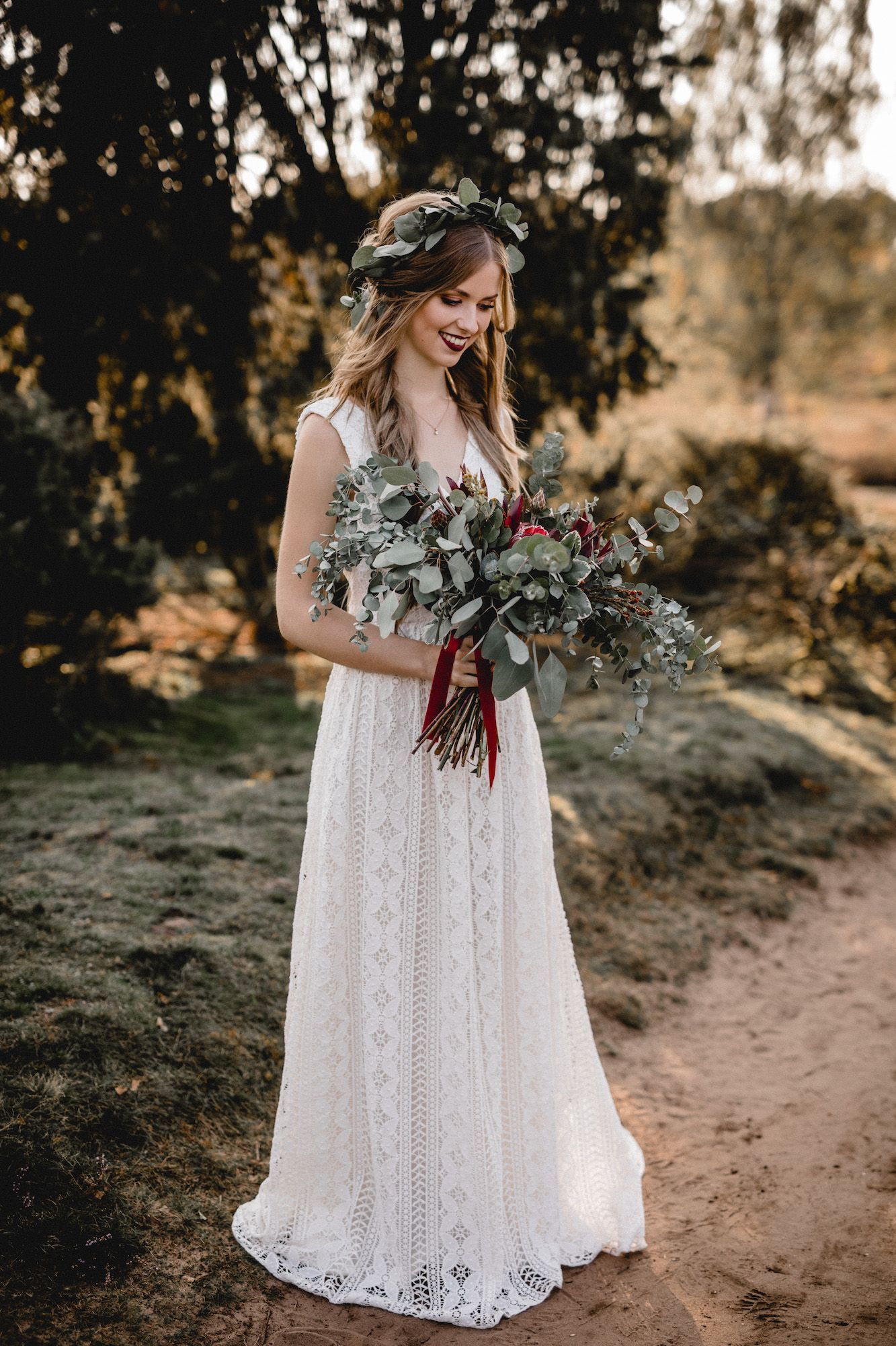 Boho Hochzeit Vintage Hippie Inspiration Kathi Chris Photography Style Wedding Dresses Fashion