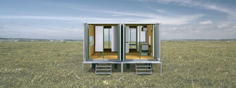 IMDU-0024-Sarobetsu Modular Industrial  Container Dwellings
