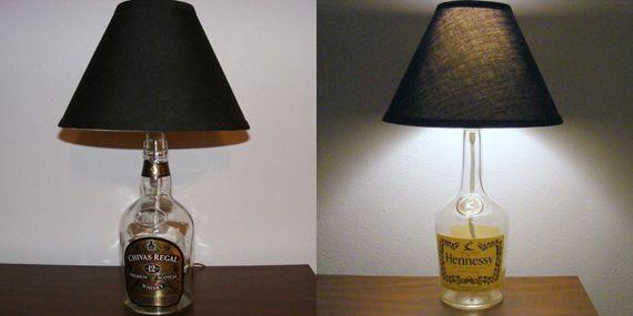 Light Headed Liquor Lamps