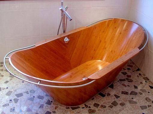 Timber Baths and Basins in 2018 Wooden bathtubs Деревянная ванна