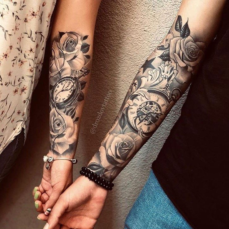 Black And Grey Tattoos World Tattoo Gallery Unique Half Sleeve Tattoos Forearm Tattoo Women Sleeve Tattoos For Women