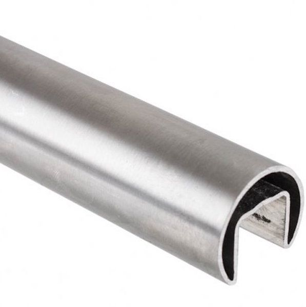 Stainless Steel Split Tube S S 316 25mm Diameter For 10 12mm Glass Stainless Steel Balustrade Glass Stainless Steel