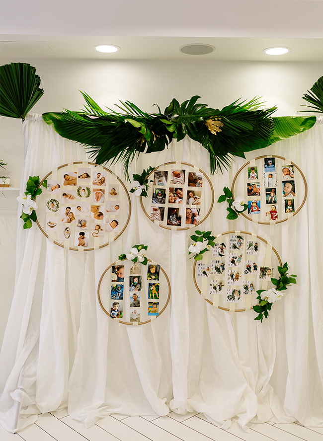 A Boy's Green Tropical First Birthday Party #tropicalbirthdayparty
