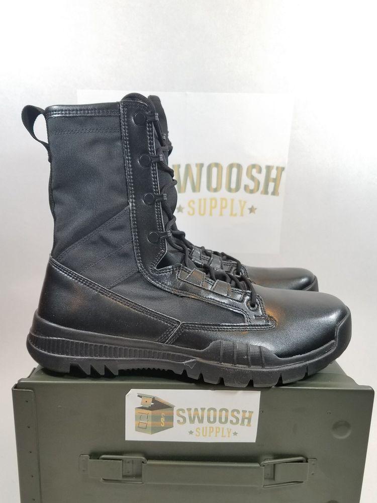 848aee3d30f Nike SFB 8   Special Field Military Boot Triple Back SZ 9.5 (631371-090)   Nike  HikingTrailBoots