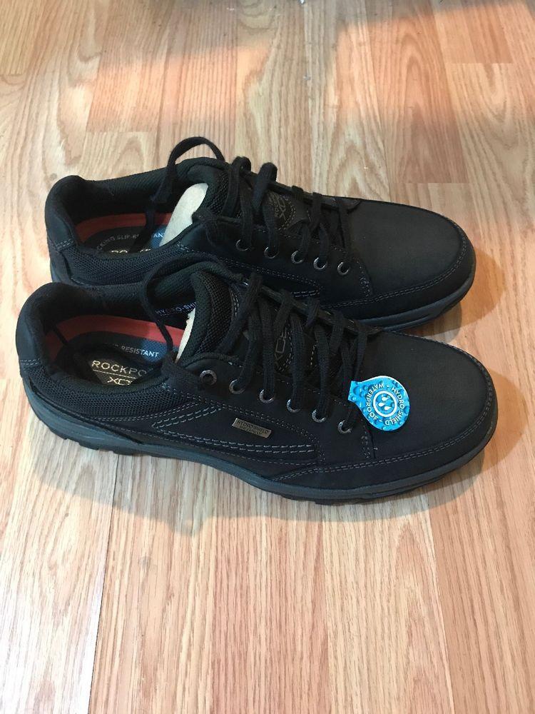 New Men's Black Rockport Sneakers