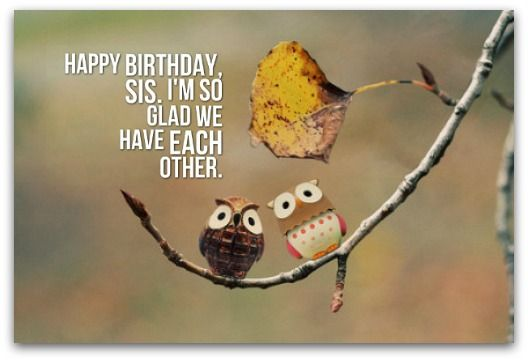 Birthday Wishes Ideas Sister ~ Sister birthday wishes page fun sister