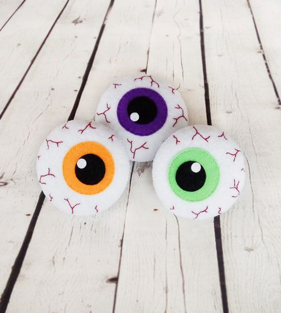 Halloween Decorations Eyeball Zombie Bloodshot Creepy Cute Decor - halloween decorations party
