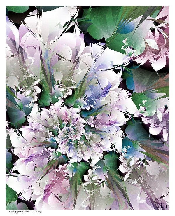 Spring Flowers by Fractek