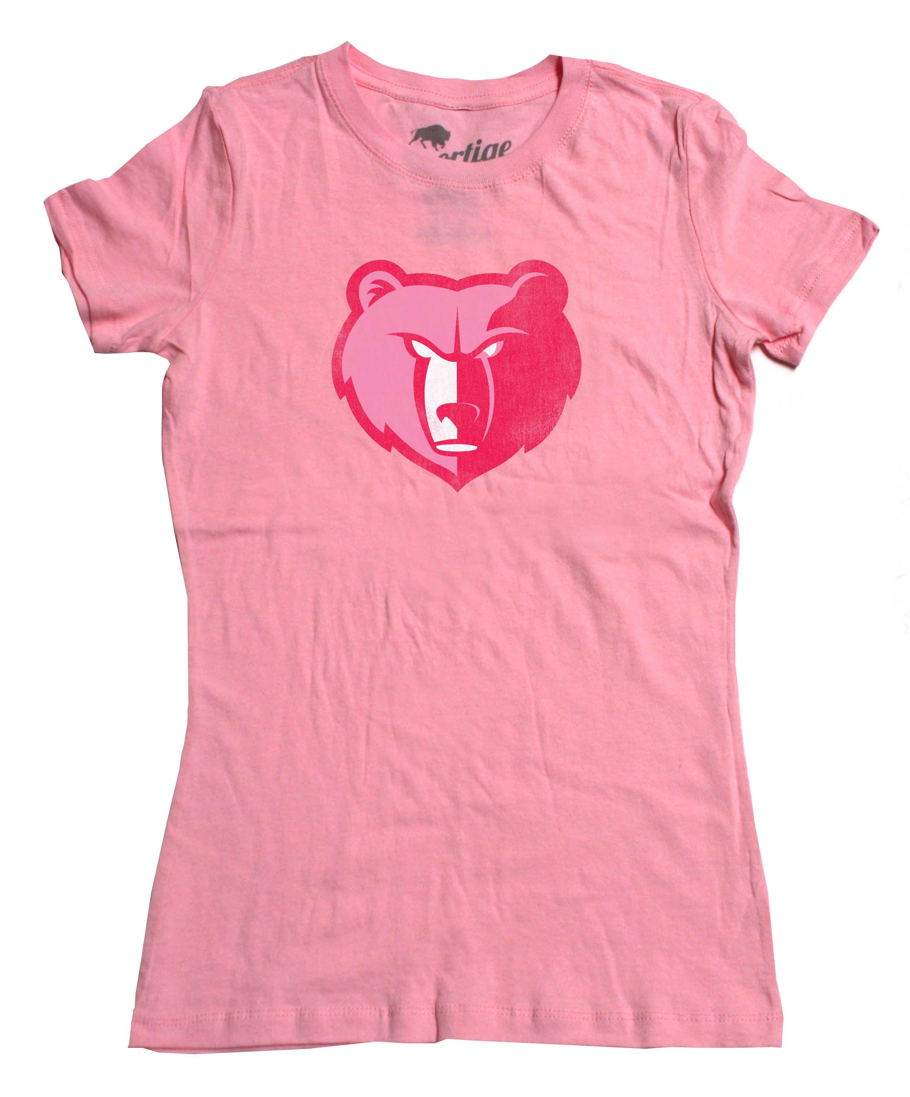 pretty nice ab136 e1e17 Pink Memphis Grizzlies T-Shirt