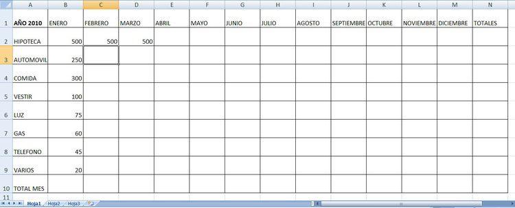 Planltilla Excel Control Gastos Hogar Finazas Control De Gastos Ingresos Y Gastos Y Presupuesto