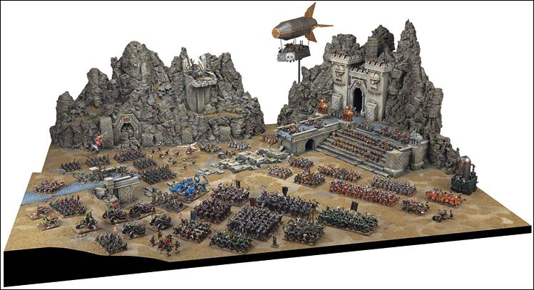 Warhammer: Scenery Showcase: Dwarf Stronghold