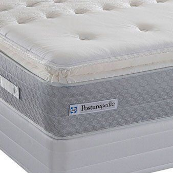 Twin Sealy Posturepedic American Trail Plush Euro Pillow Top Mattress By 579 00 The