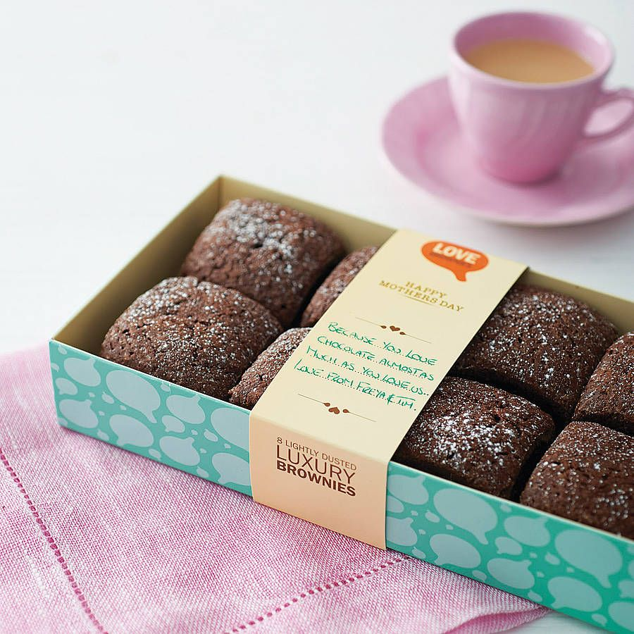 Box Of Eight Love Brownies from