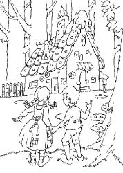 Free Hansel And Gretel Coloring Pages Cartoon Coloring Pages Coloring Pages Coloring Books