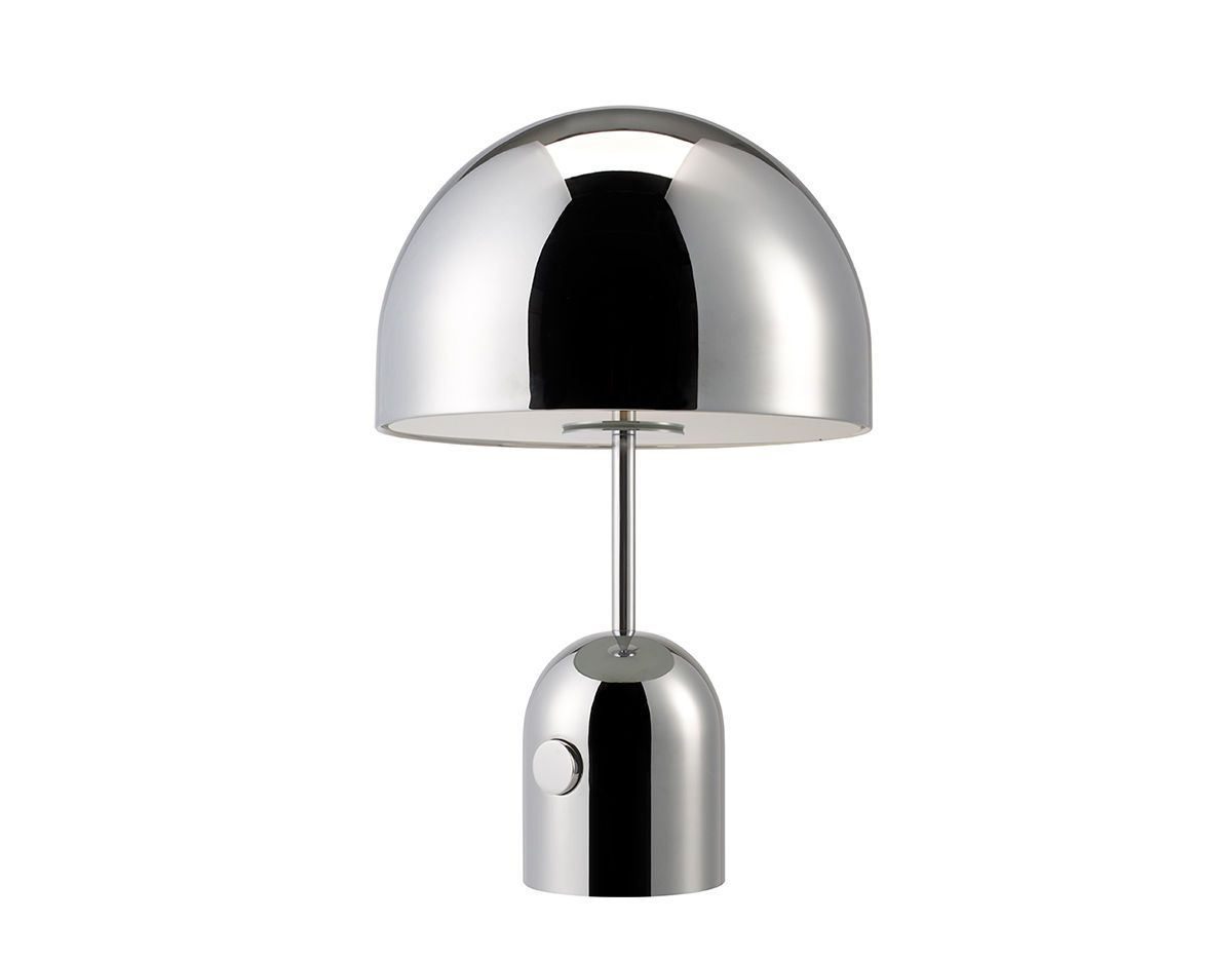 Bell Table Lamp Chrome Table Lamp Table Lamp Design Table Lamp