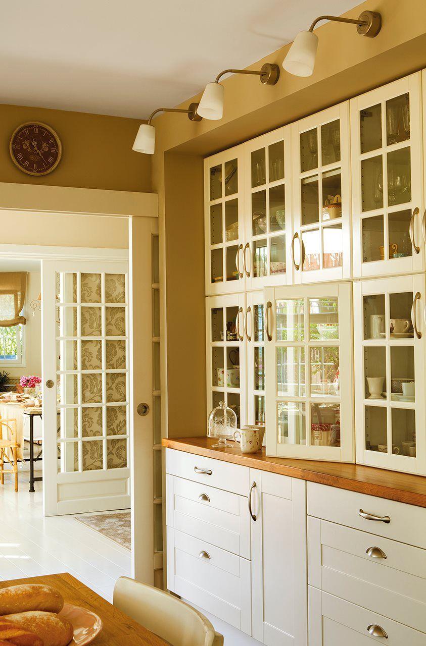 Gana metros! 30 trucos para pisos mini | Kitchens, Kitchen design ...