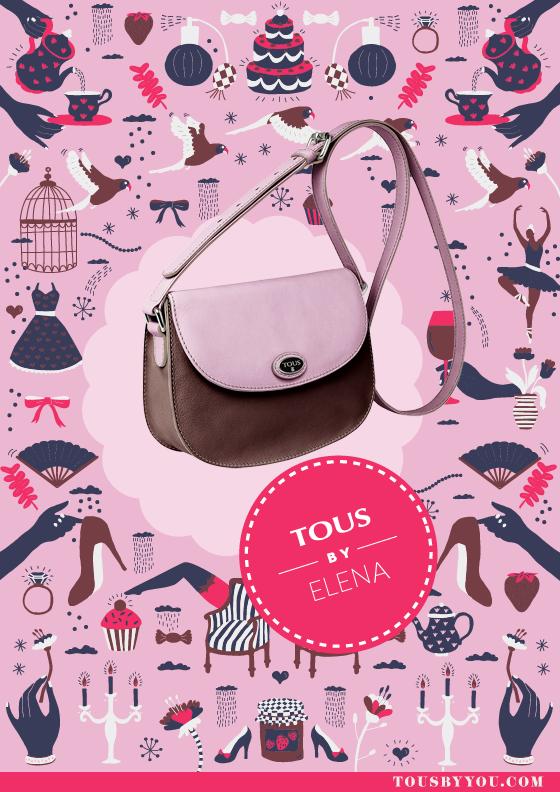 Éste es el bolso Tous que va con mi manera de ser. Ultrapersonaliza el tuyo con la ayuda de tus redes sociales en http://es.tous.com/es/byyou/bags/