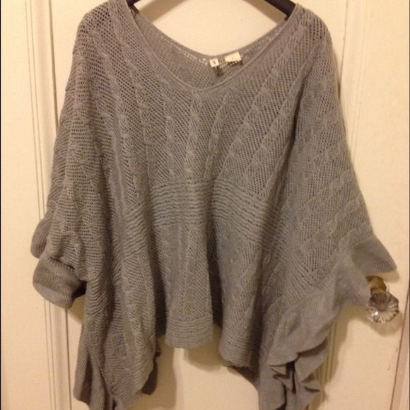 """Anthropologie poncho / cape size small/medium""! #poshmark #fashion #shopping #style #Anthropologie #Sweaters"