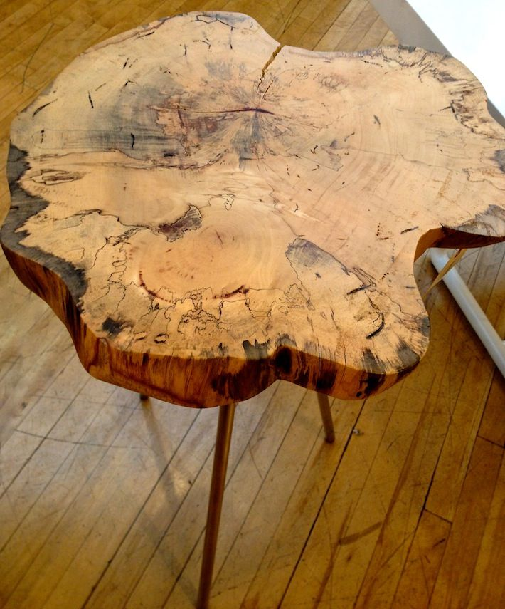 Images of table made out of a tree interior decorating for Stump furniture making