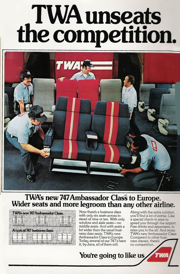 TWA 747 First Class Cabin   Aircraft interiors, Vintage ...  Twa 747 Cabin