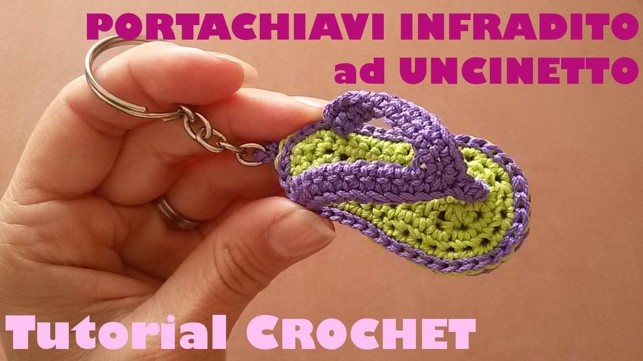 Tutorial mini Draghetto Amigurumi - Portachiavi ad uncinetto (sub ... | 720x1280
